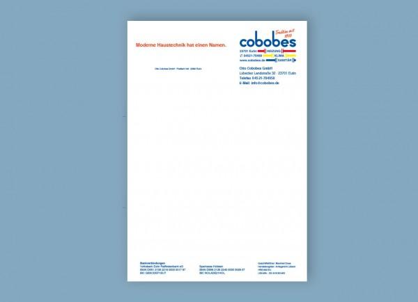 Briefbogen / Geschäftspapier