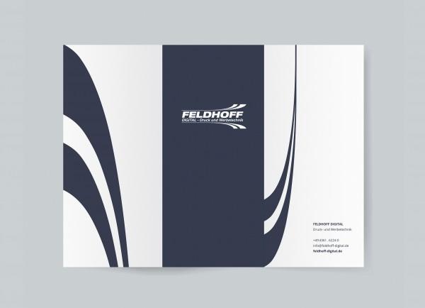 6-seitiger Flyer / Leporello (DIN-lang, 10,5x21cm)